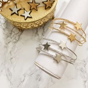 Gold and Silver Star 🌟 Cuff